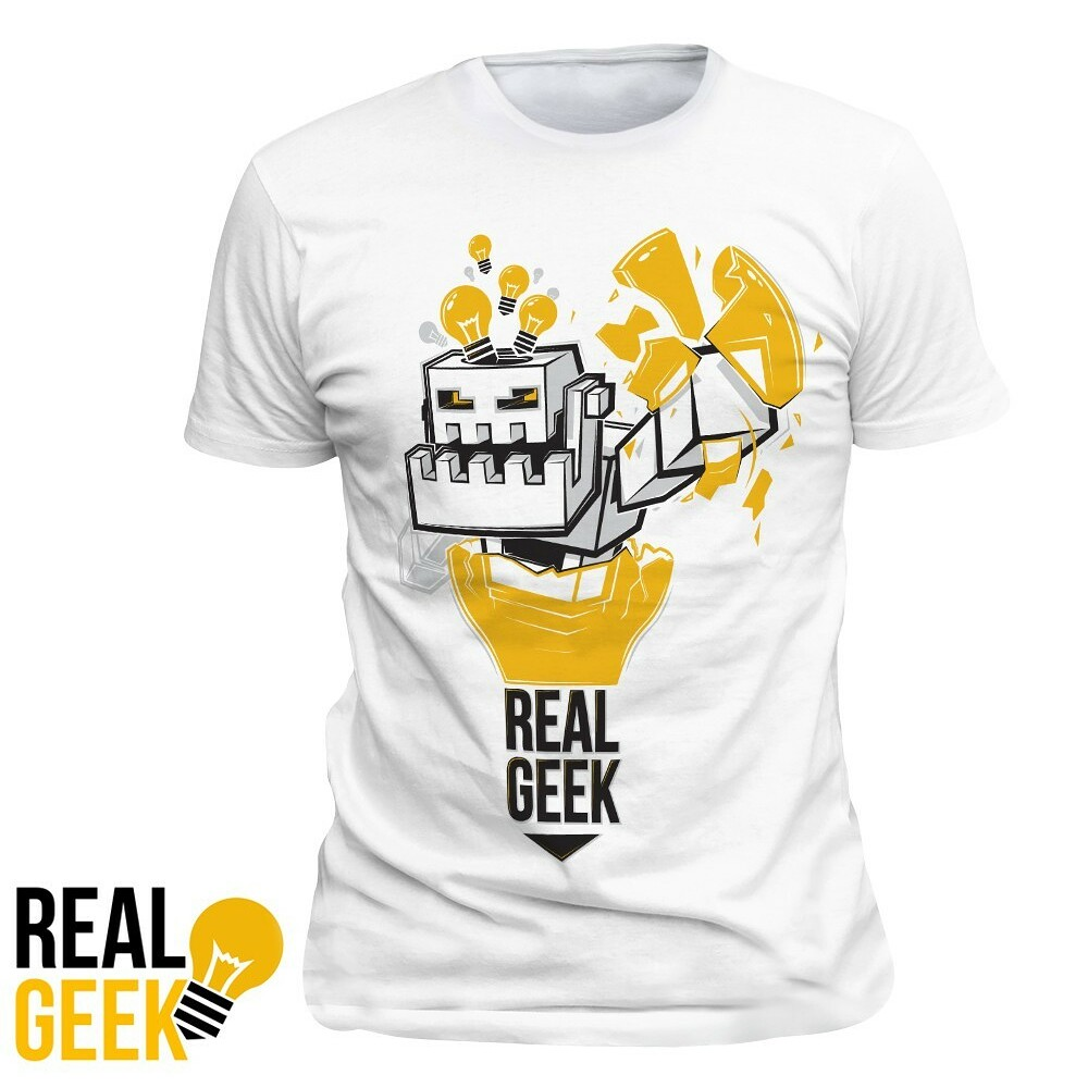 Tričko Real Geek Boss