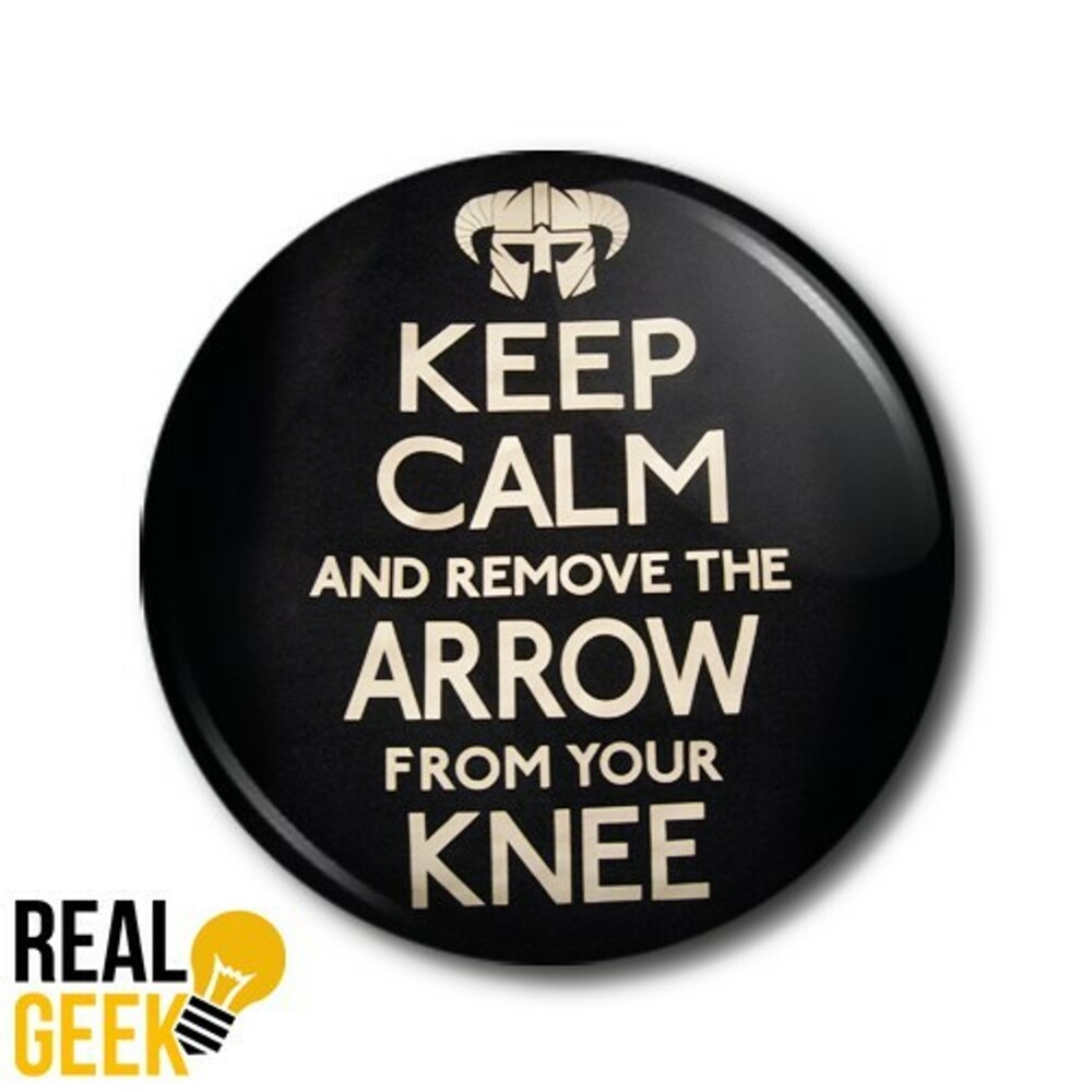 Placka Arrow in the knee