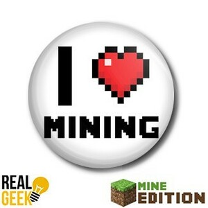 Placka I LOVE MINING