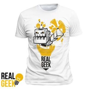 Tričko Real Geek Boss
