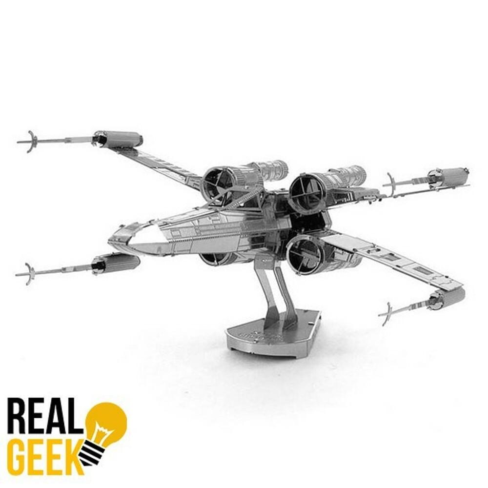 3D ocelová skládačka X-Wing
