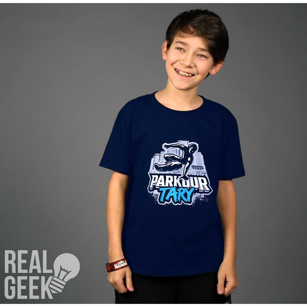 Dětské tričko Tary Parkour Navy