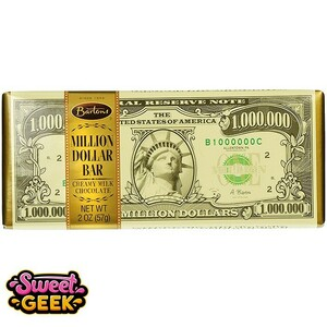 Million Dollar Chocolate Bar