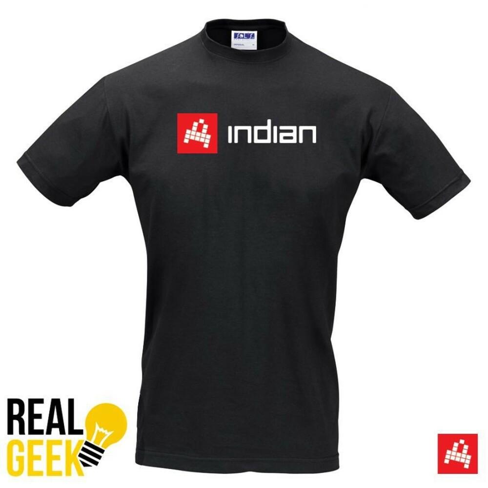 Černé tričko INDIAN