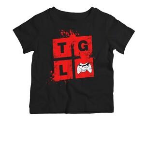 Dětské tričko TGL černé
