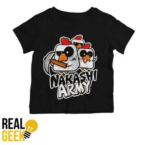 Dětské tričko Nakashi černé