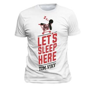 Tričko Tom&Viky bílé