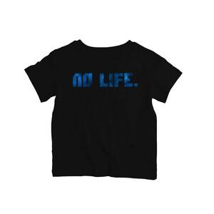 Dětské tričko Wedry No Life Černé