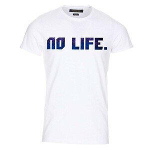 Tričko Wedry No Life Bílé