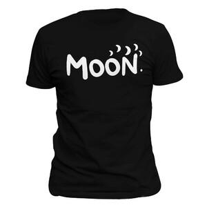Tričko Moon Černé