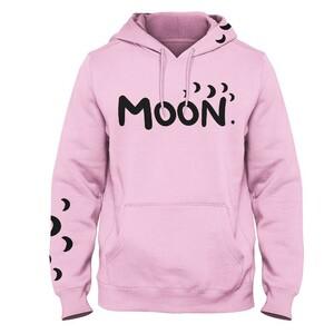 Mikina Moon růžová