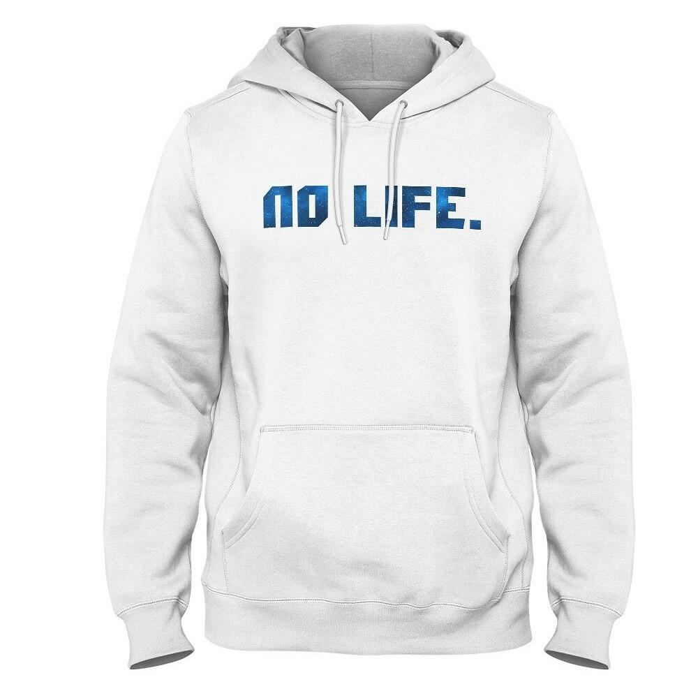 Mikina Wedry No Life Bílá