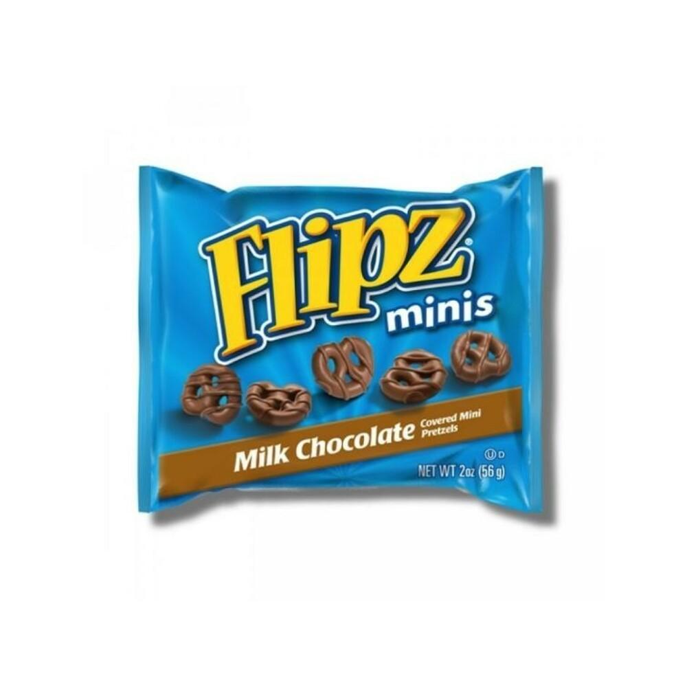 Flipz Grab N Go Mini Mléčné Preclíky 56g