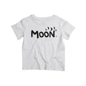 Dětské tričko Moon Bílé
