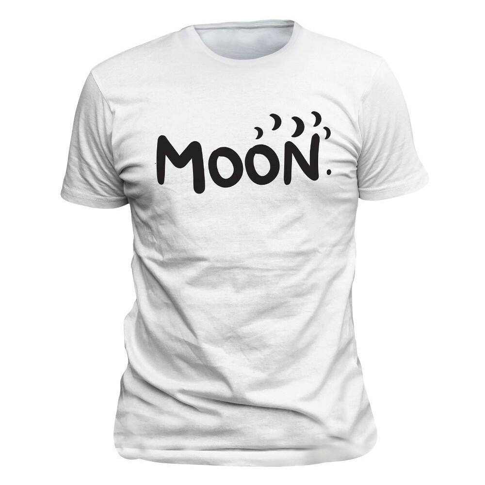 Tričko Moon Bílé