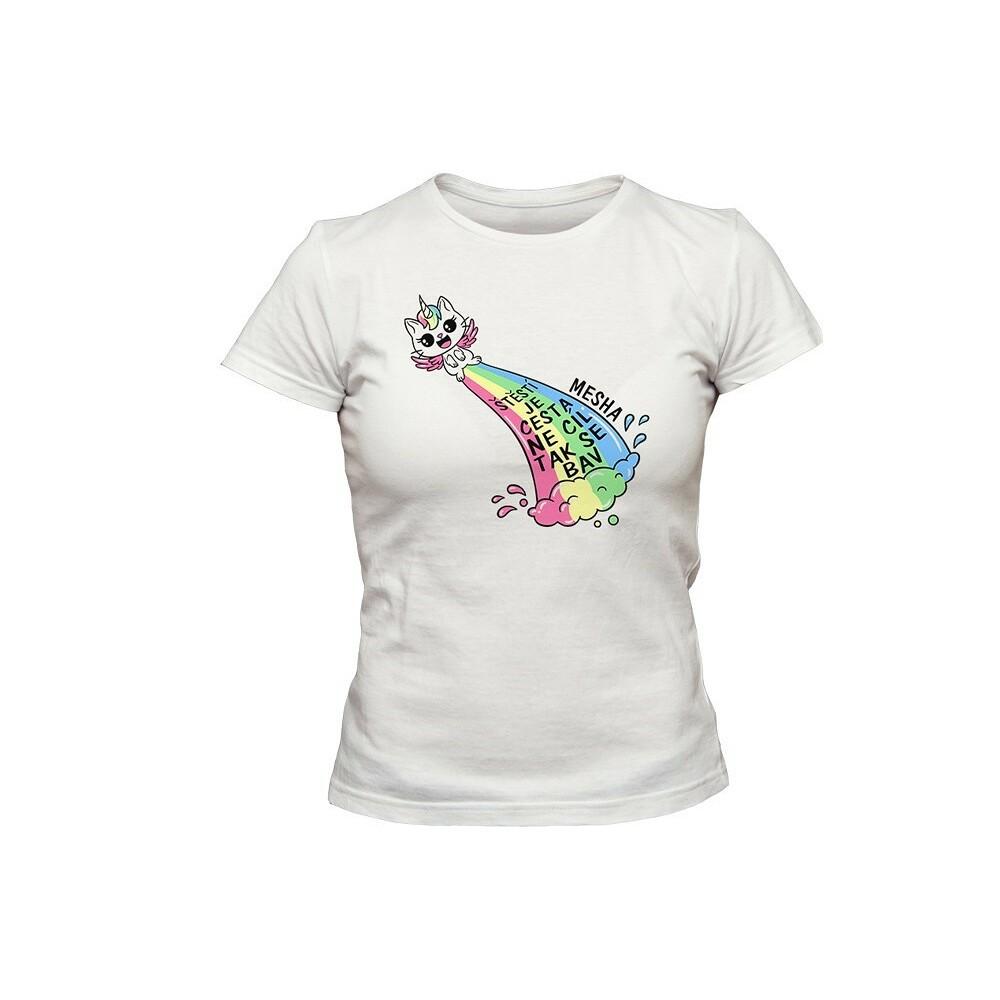 Tričko Mesha bílé holčičí
