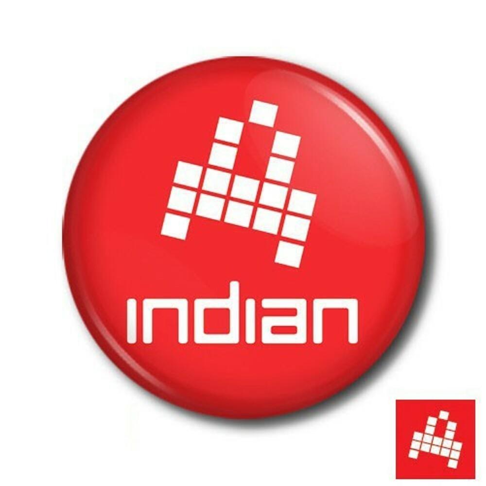 Červená placka Indian logo