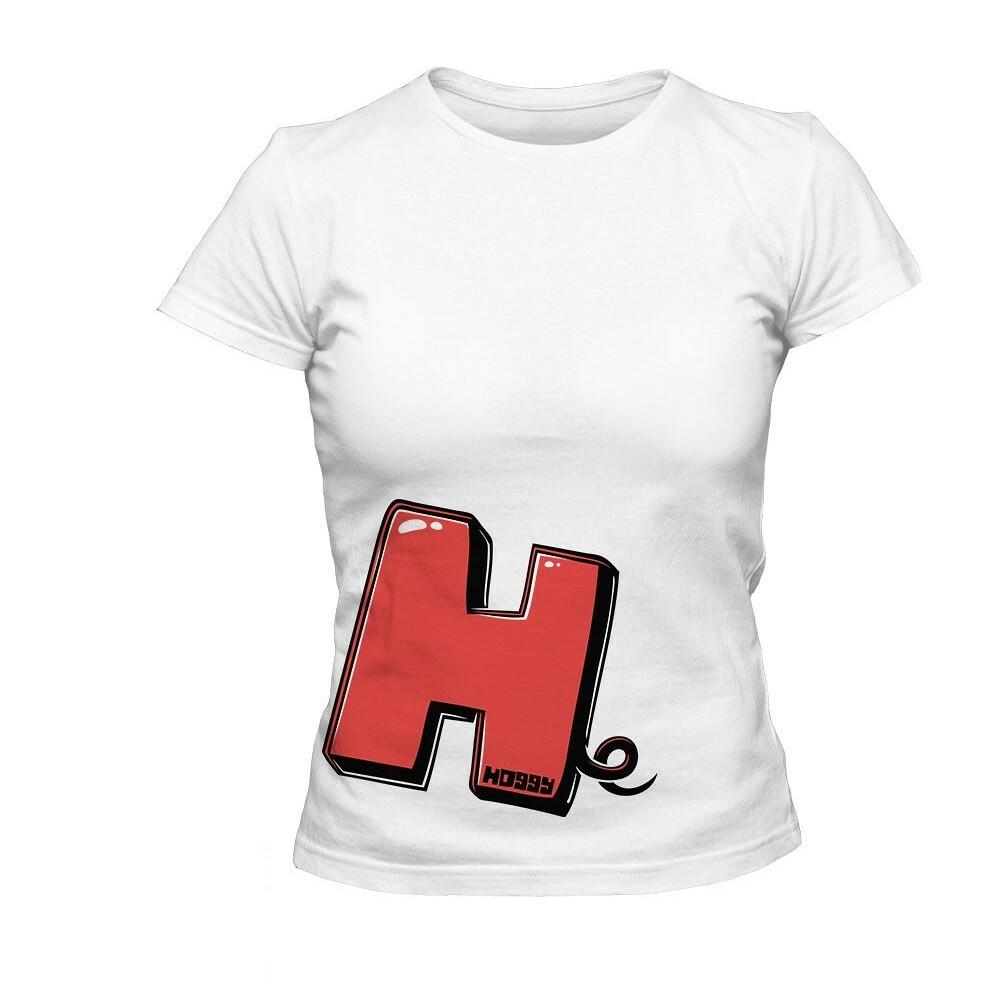 Dámské červené tričko Hoggy H