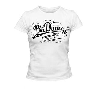 Tričko Ba-Dum tss dámské bílé